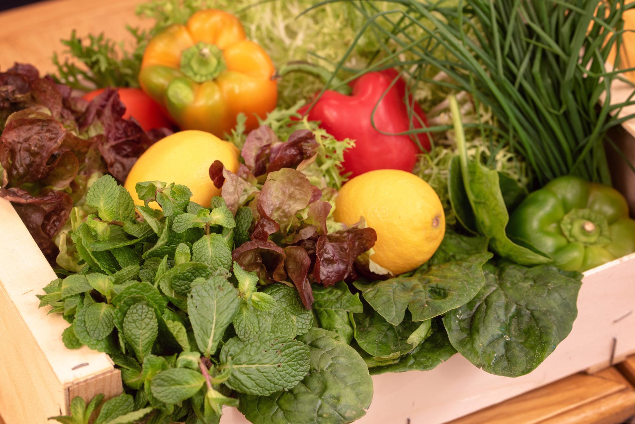 produits bio frais